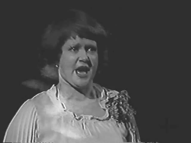 """Зоя Виноградова Третья песня Любаши из оперетты """"Севастопольский вальс"""""""