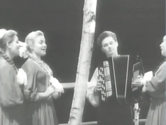 Оренбургский народный хор (солистки) Черноглазый инженер