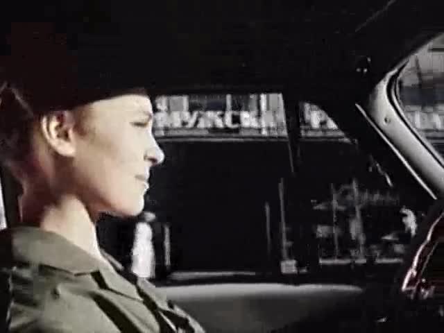 Майя Кристалинская (за кадром) За рулём