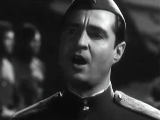 Ансамбль песни и пляски Ленинградского военного округа Увела солдат война