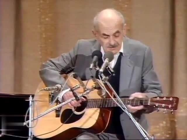 Булат Окуджава Музыкант