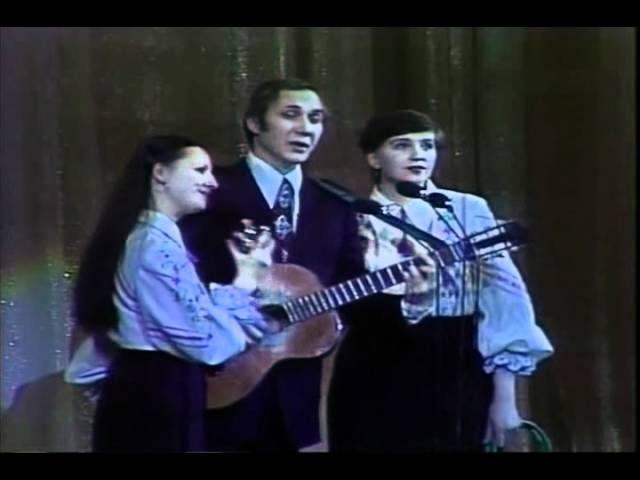 Вокальное трио Маренич Тиша навкруги (Тишина вокруг)