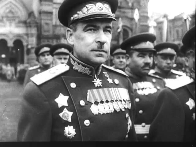 Павел Кравецкий (за кадром) Последний день войны