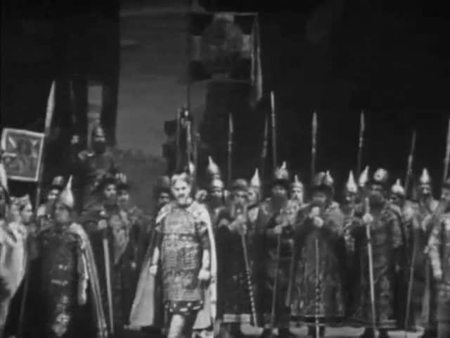 """Виктор Нечипайло, хор ГАБТ Пролог из оперы """"Князь Игорь"""""""