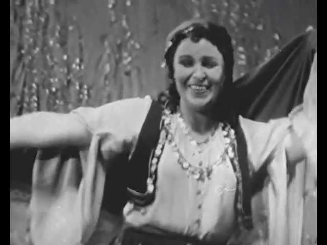 """Ксения Белёвцева Цыганская песня из оперетты """"Доктор Окс"""""""