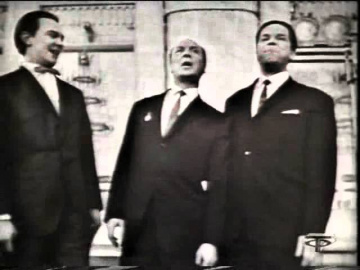 Владимир Трошин, Муслим Магомаев, Александр Розум Москва майская