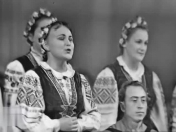 Ансамбль песни и танца Белорусской ССР Речицкая лирическая