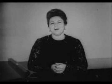Людмила Зыкина Течёт Волга