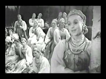 Уральский русский народный хор Вечерняя лирическая