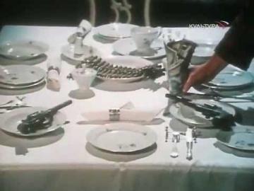 Николай Караченцов, Павел Смеян (за кадром) Суперстрасть