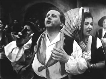 """Эльза Браслис, Матвей Матвеев и др. Финал первого акта из оперетты """"Перикола"""""""
