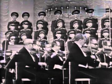 Хор Московского военно-музыкального училища Не скосить нас саблей острой